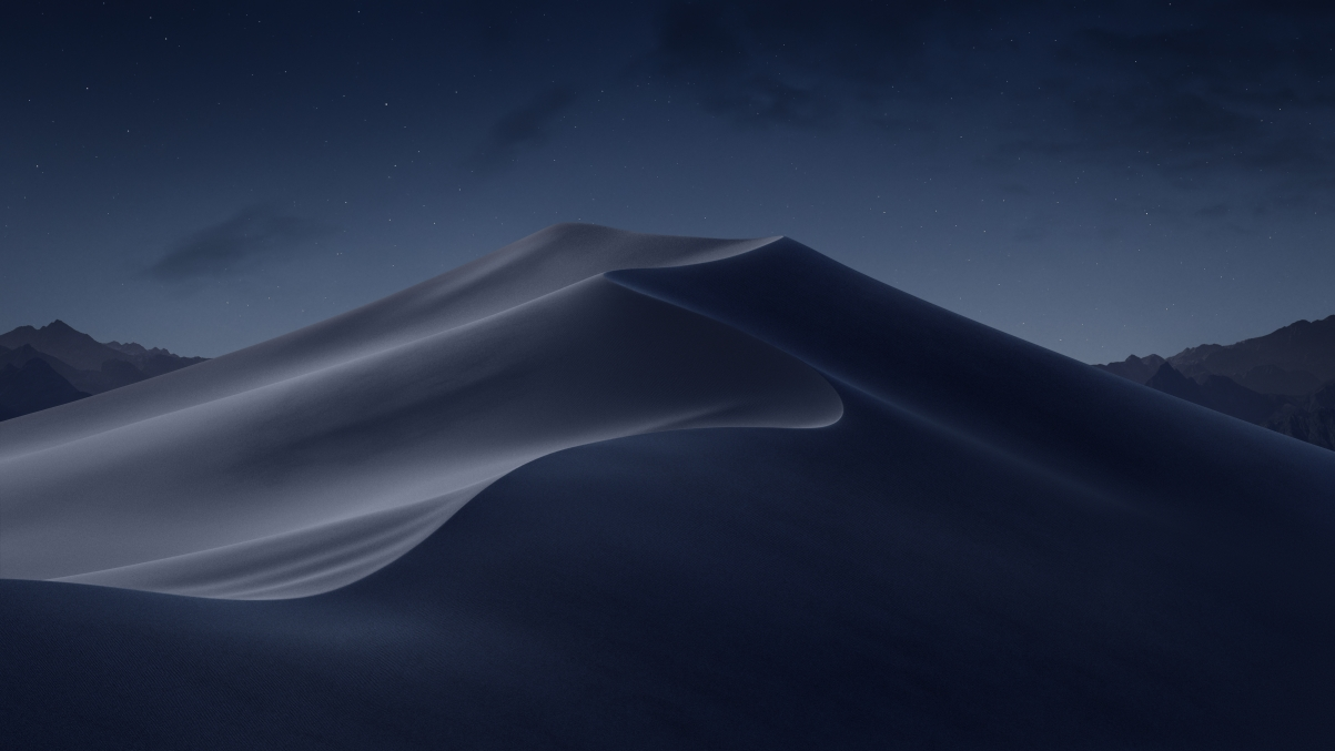 macos mojove Mojave Night